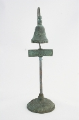 "9"" El Camino Real Mission Guidepost Desk Bell"